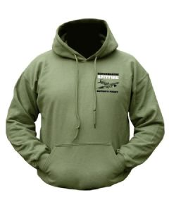 Spitfire Aeroplain Fighter Hoody Military Hooded Fleece Jumper
